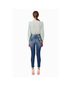 a3a2d51bde Jeans Patches Elisabetta Franchi